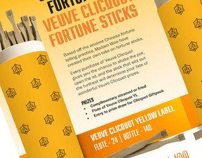 CASE STUDY: Veuve Clicquot fortune-sticks