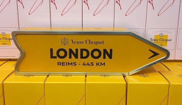 CASE STUDY: Veuve Clicquot Personalised Arrow